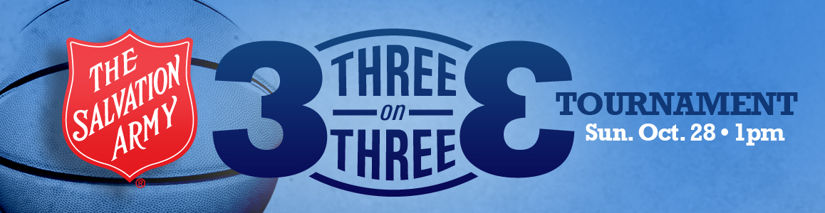 3 On 3 Basketball Tournament - Sunday, October 28 at 1pm!