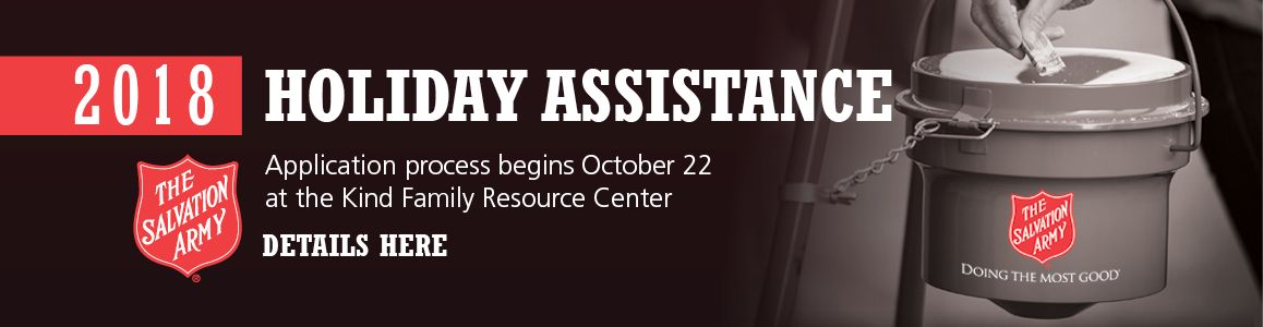 Holiday Assistance 2018 Begins October 22