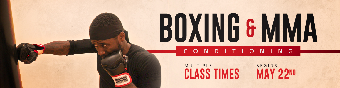 Try Our New SGT Boxing & MMA Conditioning - Beginning May 22nd!