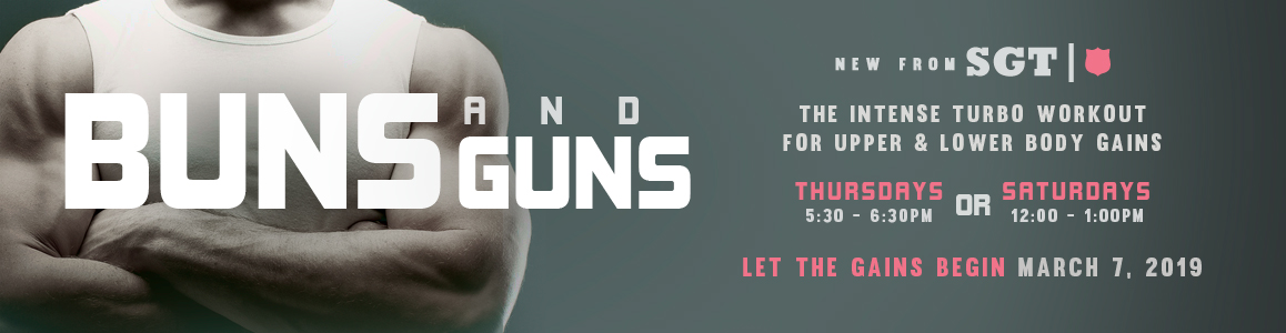 New Small Group Training Buns & Guns starts March 7