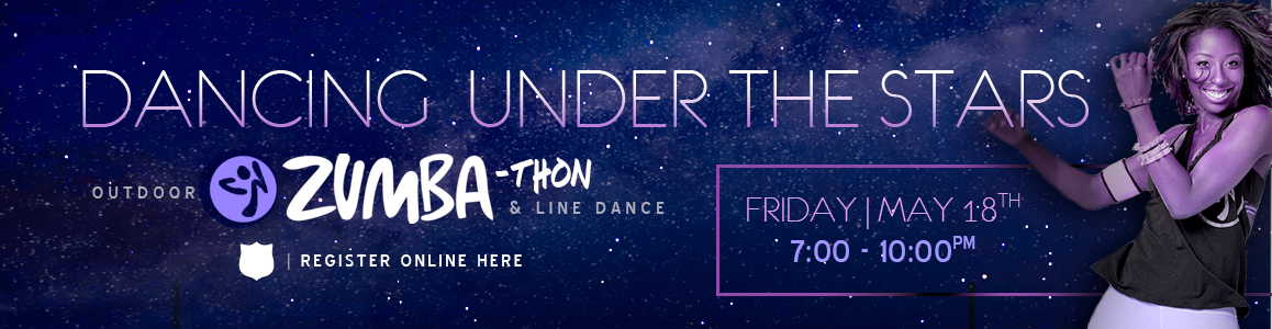 Reserve your Spot Today for Outdoor Zumba and Line Dance Under the Stars - Friday May 18th!