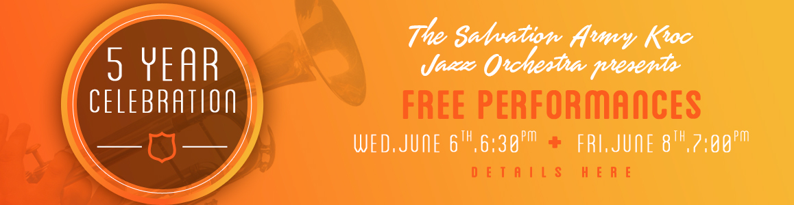 FREE Jazz Summer Concert - June 8th at 7pm