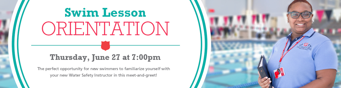 Swim Lesson Orientation - May 2 at 7pm - Get to Know Your Instructor!