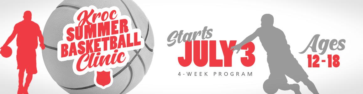 Kroc Summer Basketball Clinic begins July 3