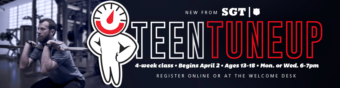 Get Bigger, Faster & Stronger for Sports - Teen Tuneup Begins April 2!