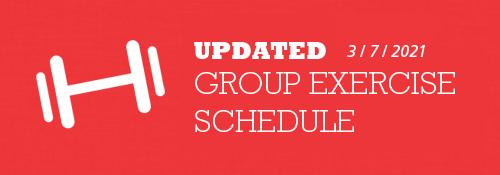 Group Ex Fitness Schedule